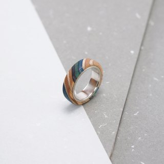 Send wood style ring R0204002
