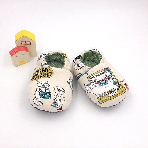 HBS handmade doll shoes - sun lion