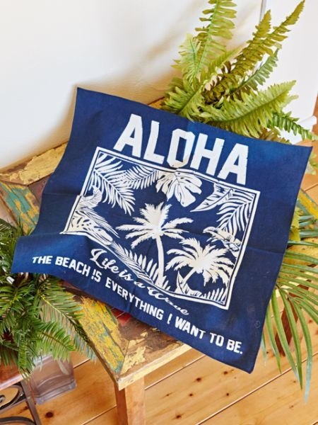 【Pre-order】 ✱ A La palm tree towel ✱ (two-color)
