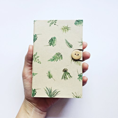 Botanical Notebook / Size: A6