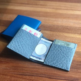 革職人 LEATHER FACTORY【FLAT II Money Clip Wallet】Made in Japan