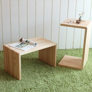 Pre-purchase money - original wooden table side / table / low table / small furniture