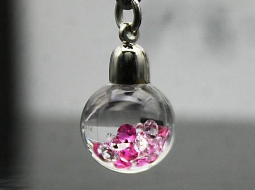 Bijou glass Ball Pendant Red color limited special price