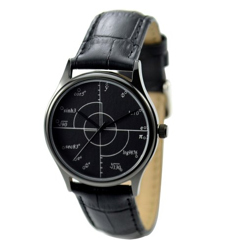 Math Formula Watch Black I Men Watch I Women Watch Free shipping