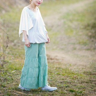 ☆ Palette ☆ 彡 Silk cotton flare gaucho