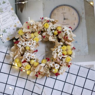 Playful small garden drying flower wreath shooting props wall decoration gifts gift wedding arrangement office small objects Hydrangea home spot