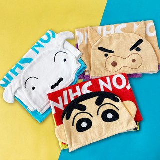 [Crayon Shin-chan Crayon Shinchan] beach hooded towel cloak * genuine authorization
