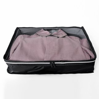 Mesh laundry bags (large). black