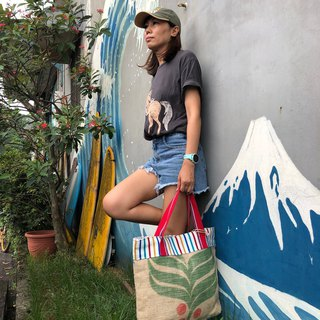 Environmental protection bag / cotton / linen / limited manual / Wenqing essential / green shopping bag / coffee linen bag / / love the earth