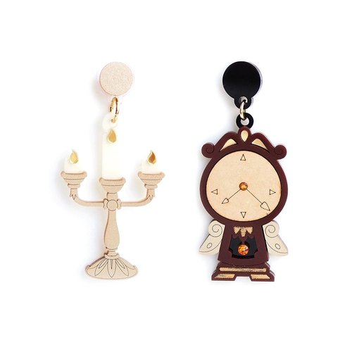 Candlestick Antique Bell Earrings