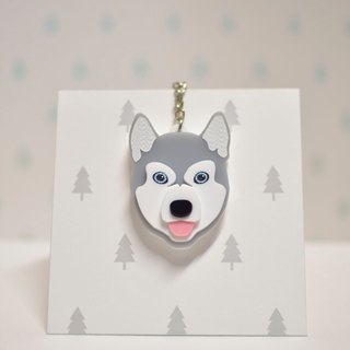 Sleds (Gray) - Key Chain - Pet Accessories - Pet Charm - Hair Kids - Gifts - Custom - Acrylic - BU