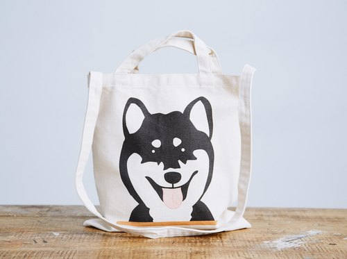 Shiba Inu  Tote Bag - Natural Color 12oz