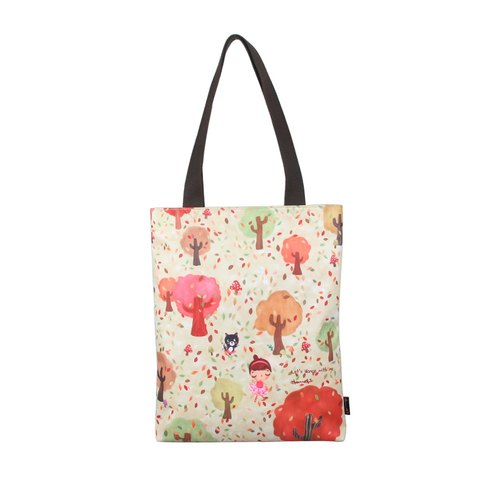 Autumn Dance - casual tote bag(water proof coated canvas)