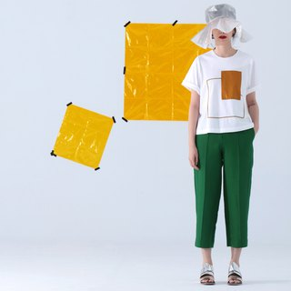Green Pintuck Cropped Pants (Also Have Black Color)