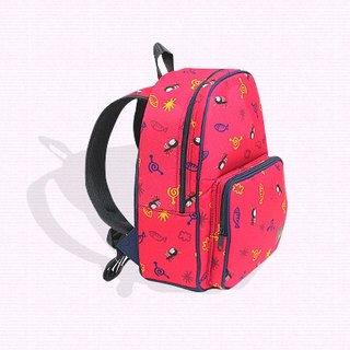 Air backpack for kids - pink (mosquito)