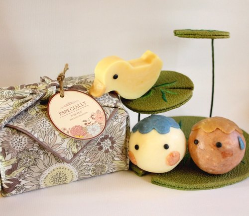 """Natural tasty"" Liangxiaowucai cloth gift"