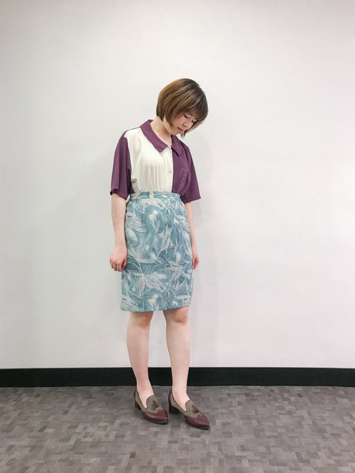…{DOTTORI :: BOTTOM}Watery Blue Skirt