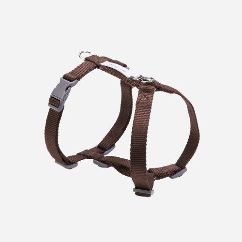[tail and I] classic nylon belt chest strap dark brown M