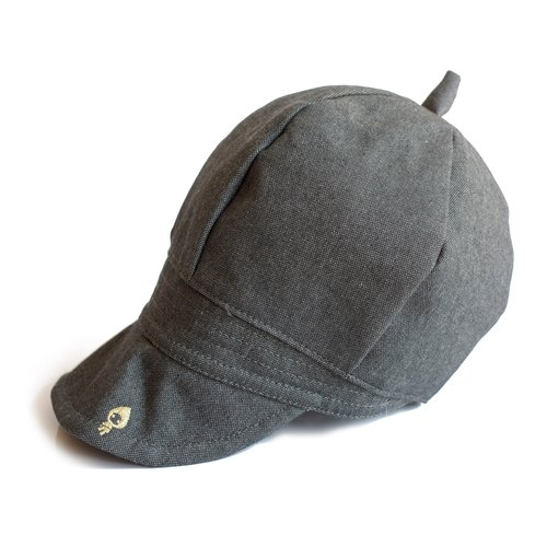 layoo to │ [Art] French romantic painter cap small Yan sense - dark gray