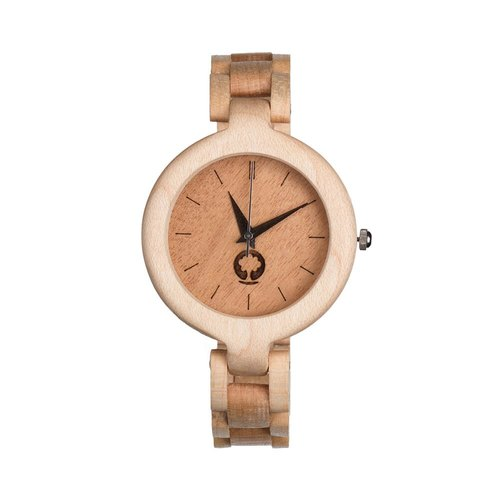 Plantwear - GLAMOUR SERIES – LADIES MAPLE WOOD TIMBER WRIST WATCH