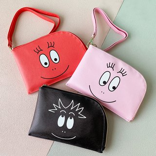 [Mr. BARBAPAPA Bubble] million mobile phone / ticket bag hanging bag · Genuine Authorized Card International