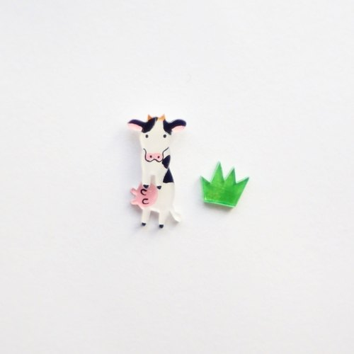 [Forest horn] dairy magnate earrings / ear clip