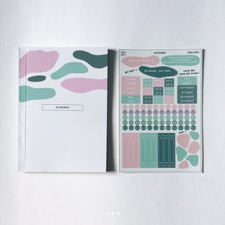 Planner set (small) : cover 003 / back grey cover