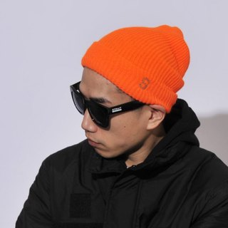 S LOGO WATCH CAP # ORANGE / THE STRAIT STRAIGHT