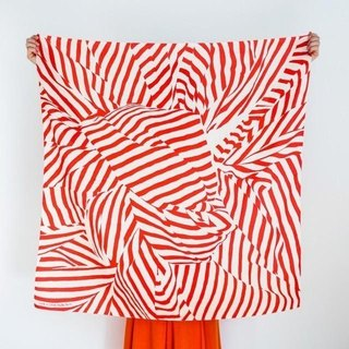 Stripe Red Furoshiki