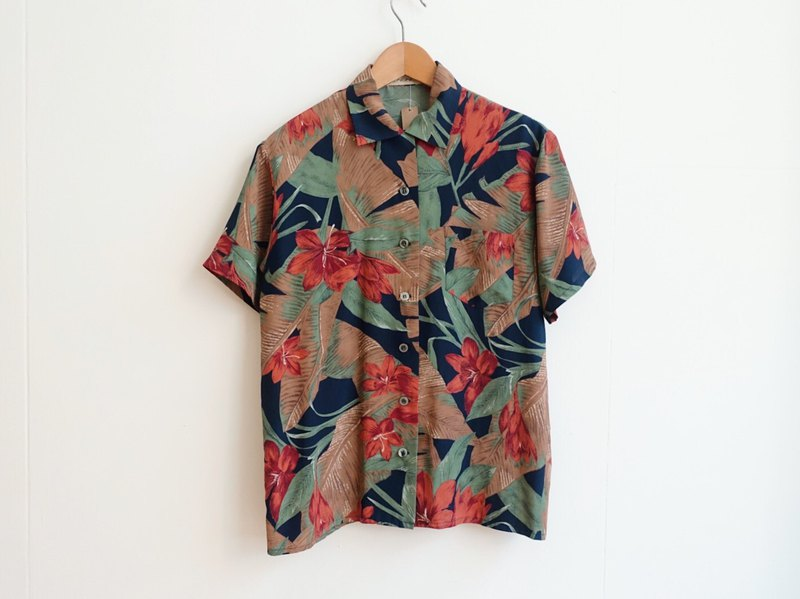 Vintage / Shirt / Short sleeve no.183 tk