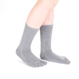 cotton-linen 5toe socks