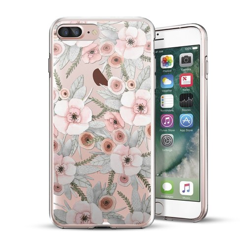 AppleWork iPhone 6 / 6S / 7 original design protection shell - flowers CHIP-060