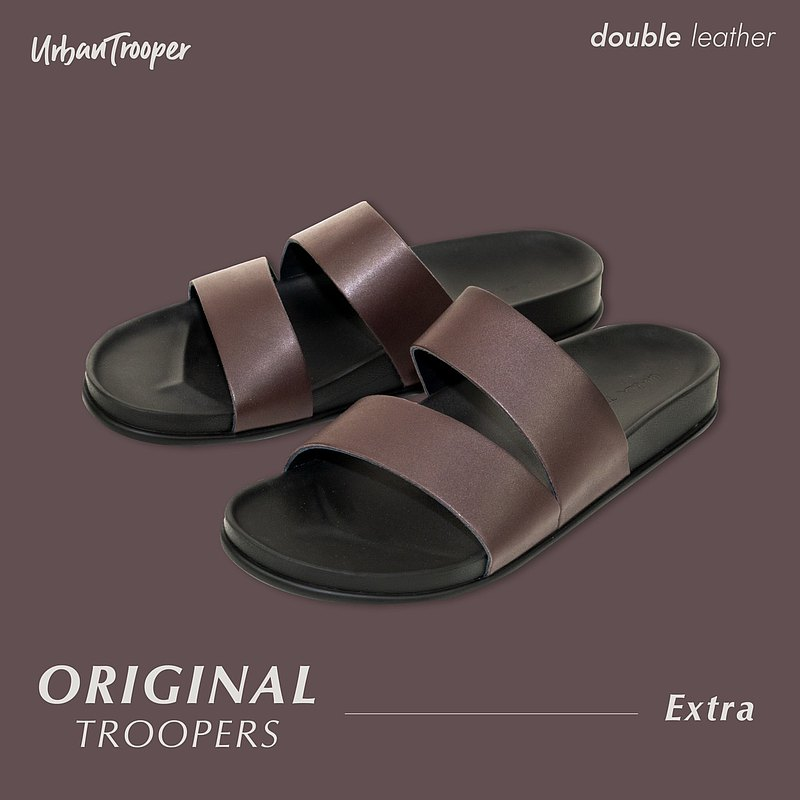 รองเท้า Urban Trooper รุ่น Original  Troopers Leather  สี Mangosteen Purple