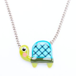 [France TARATATA Paris] animal party series turtle single pendant necklace