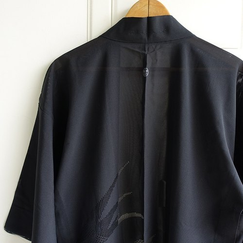 │Slowly│ Japanese Antiques - Light kimono coat M12│ .vintage retro vintage theatrical...