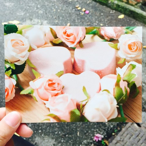 Design models Postcard - Rose Garden - SoaPenny