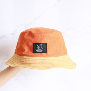 Contrast cute stitching fisherman hat