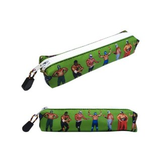 Fighting Style Pencil Bag (Green)