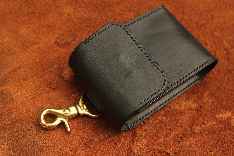 真皮手縫菸盒 適合放軟盒