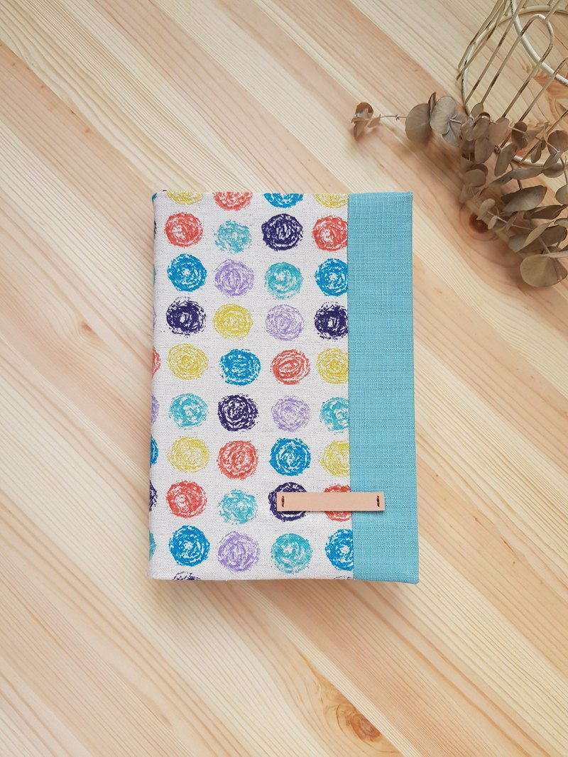 A5 / 25K cloth book clothing adjustable book cover color circle (left turn)