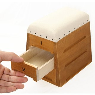 Japan Toyoda industry | jump box shape wooden mini storage box - Timon drawer 3 layer
