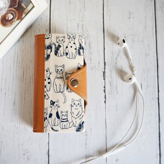 White Bear Apron iphone case Notebook type smartphonecase