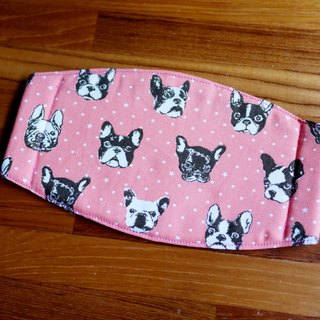 Hand-made to order = daily essential small hand-made masks were = = * Japan imported fabric little Bulldog