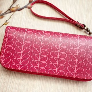 Red spectrum. Waterproof long clip / wallet / purse / purse