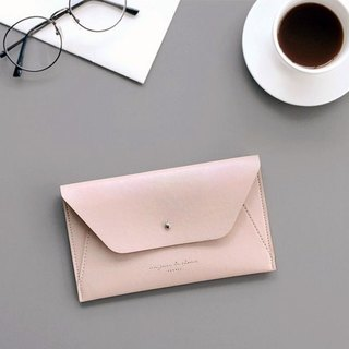 ICONIC Minimalist Passport Wallet - Indian Pink, ICO50206