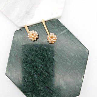 Elegant Pearls 14kgf  Earrings 【Christmas Earrings】【Agate Earrings】【Gifts】