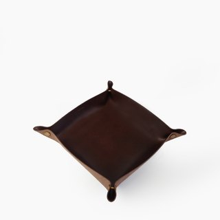 Alfred Valet Tray in Coffee, Large