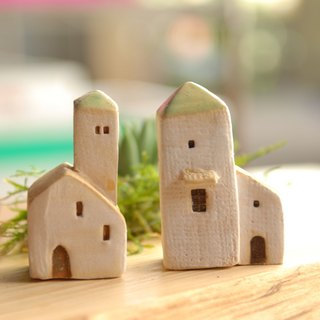 [Christmas gift exchange] brownish green roof -9 Southern France Thao house (ceramic 2) Valentine's Day Birthday Gifts +