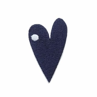 Heart nose - embroidered patch