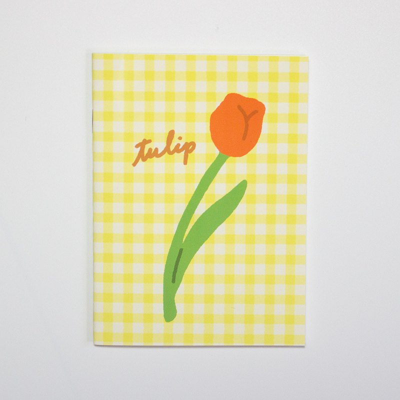 NOTEBOOK TULIP A6 notebook